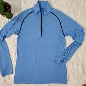 Lululemon Metal Vent Tech 1/4 Zip Up Shirt
